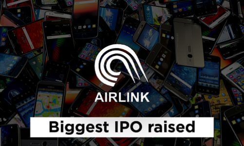 Airlink launched the biggest IPO at PSX